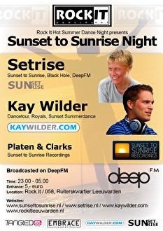 Sunset To Sunrise Night (flyer)