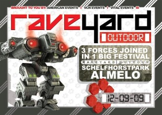 Raveyard Outdoor 2009 (flyer)