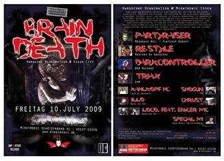 Brain Death (flyer)