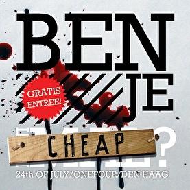 Ben je cheap? (flyer)