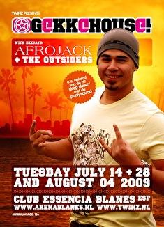 GekkeHouse! (flyer)