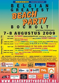 Belgian Greatest Beachparty Bocholt (flyer)