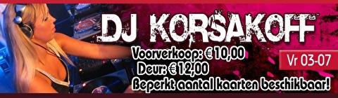 DJ Korsakoff (flyer)