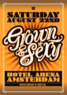 Grown & Sexy (flyer)