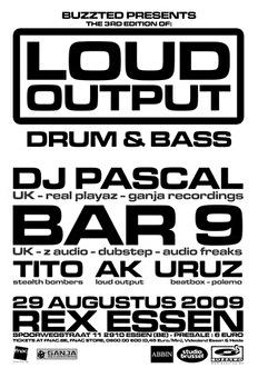 Loud Output 3 (flyer)