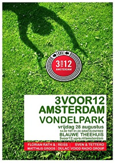 3voor12 Amsterdam Vondelpark (flyer)