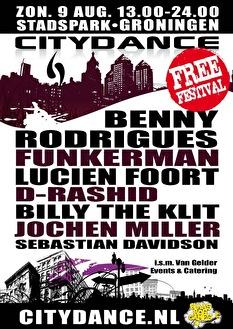 Citydance Groningen (flyer)