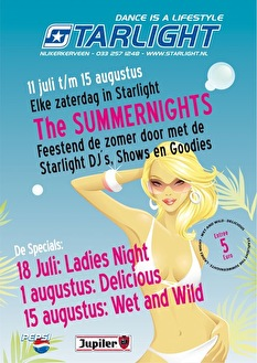 The Summernights (flyer)