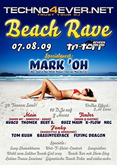 Beach Rave (flyer)