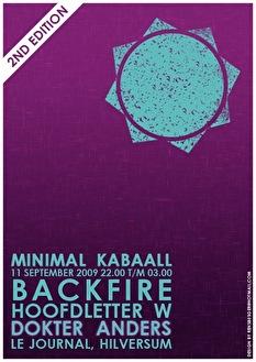 Minimal Kabaall (flyer)
