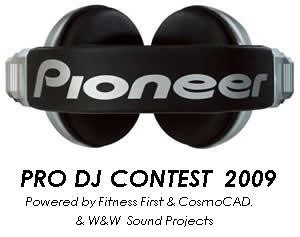 Pioneer pro dj contest (flyer)