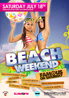 Famous on Saturday (flyer)