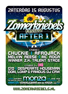 Zomerkriebels Afterparty (flyer)