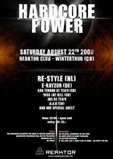 flyer Hardcore Power