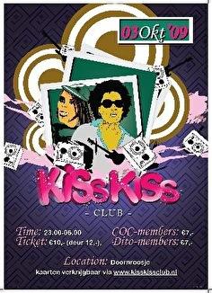KissKiss club (flyer)