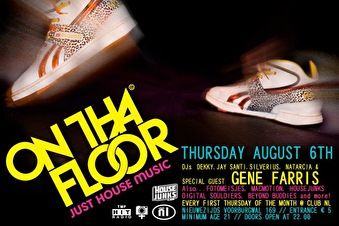 On tha floor club night (flyer)