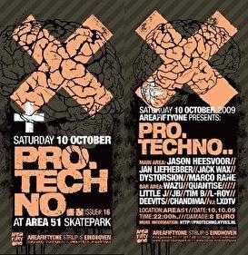 Pro Techno #16 (flyer)