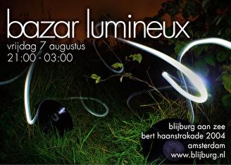 Bazar Lumineux (flyer)