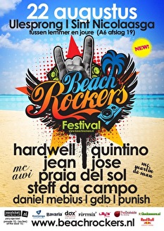 Beachrockers Festival (flyer)