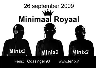 Minimaal Royaal (flyer)