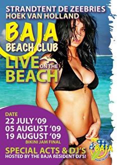 Baja Live on the Beach (flyer)