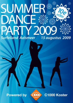 Summer Dance Party 2009 (flyer)