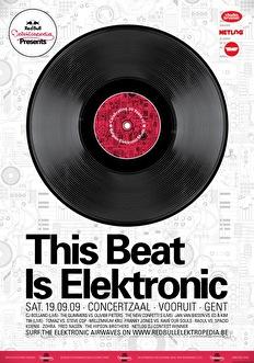 This beat is elektronic (flyer)