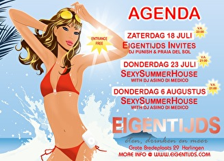 Sexy Summer House (flyer)