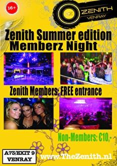 Memberz Night (flyer)