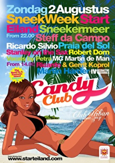 Candy Club on tour (flyer)
