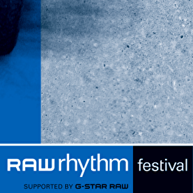 Raw Rhythm Festival (flyer)