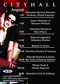 Club Cityhall (flyer)