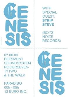 Genesis (flyer)