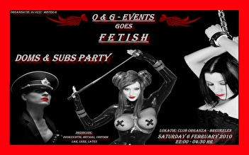 O&G Events goes fetish (flyer)