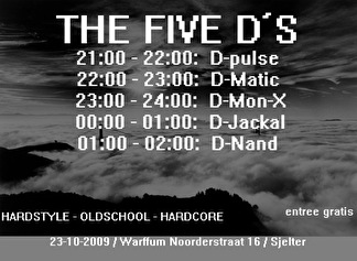 The five D's (flyer)