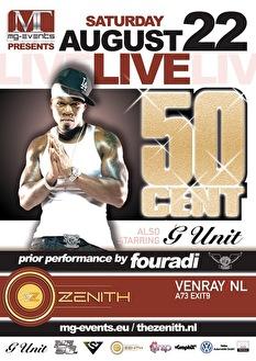 50 Cent live (flyer)
