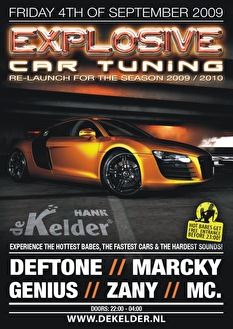 Explosive car tuning (flyer)