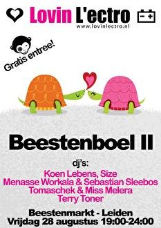 Beestenboel II (flyer)