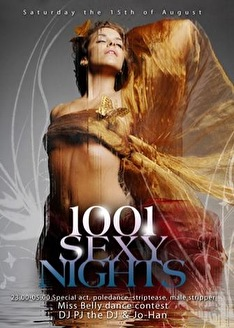 1001 Sexy Night (flyer)