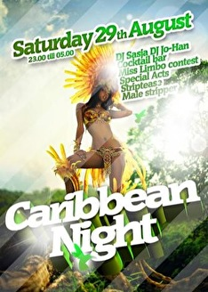 Caribbean Night (flyer)