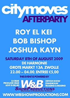 Citymoves Afterparty (flyer)