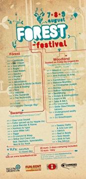 Forest Festival (flyer)