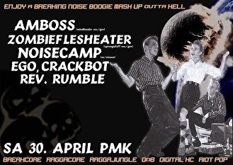Night Of The Living Breakheadz (flyer)