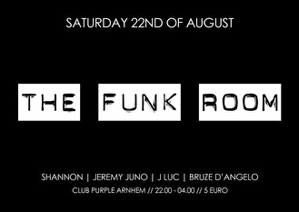 The funk room (flyer)