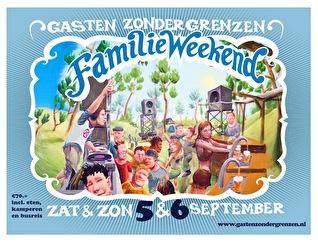 GZG Familieweekend (flyer)