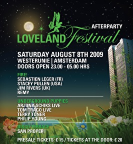 Loveland Festival 2009 Afterparty (flyer)