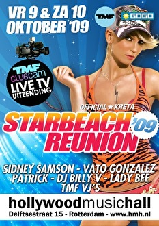 Official Starbeach Reunion (flyer)