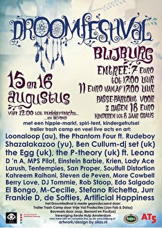 Droomfestival (flyer)