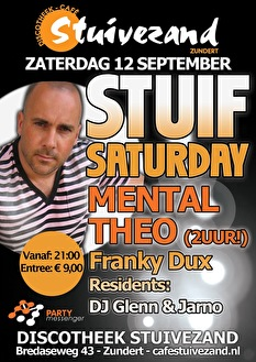 Stuif Saturday (flyer)