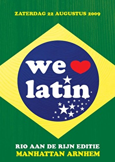 We Love Latin (flyer)